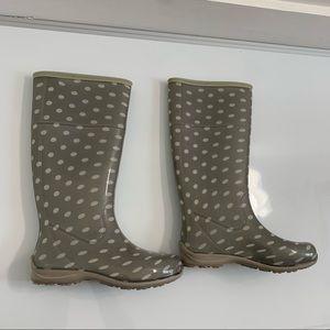 Itasca Polka Dot Rainboots